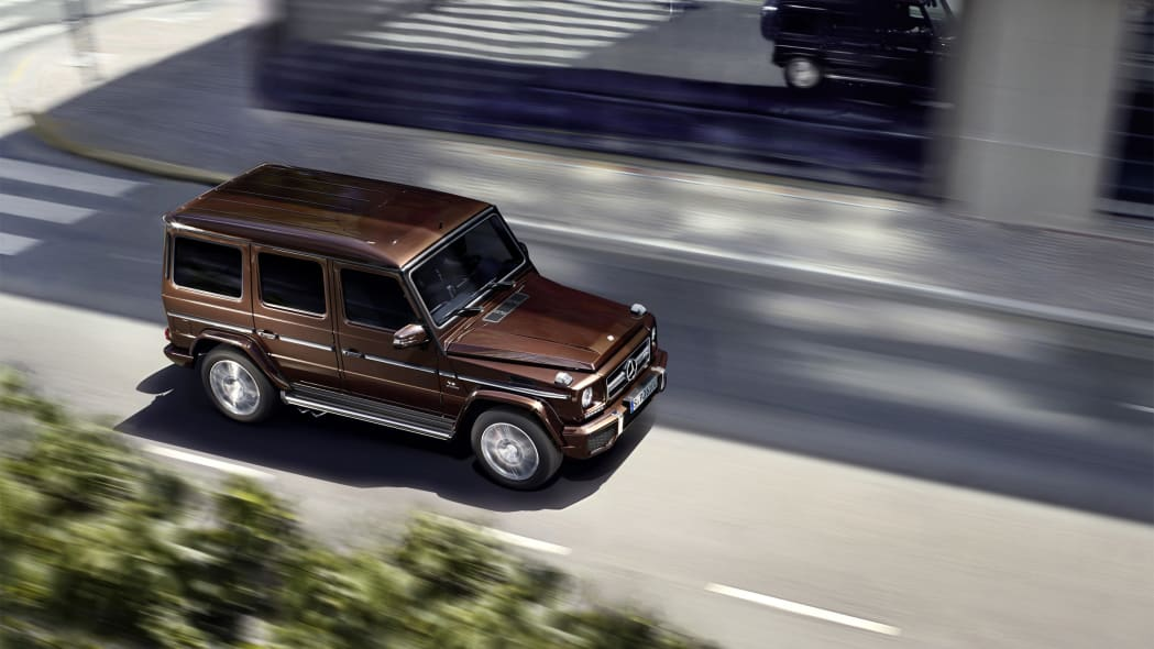 Mercedes G63 AMG moving motion city