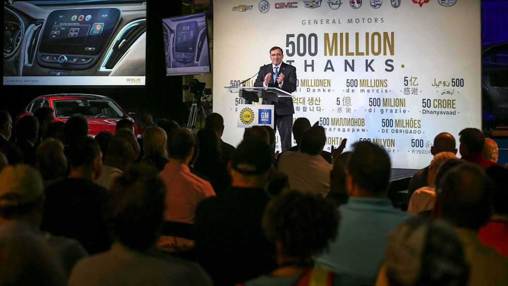 gm thanks workers for 500 million