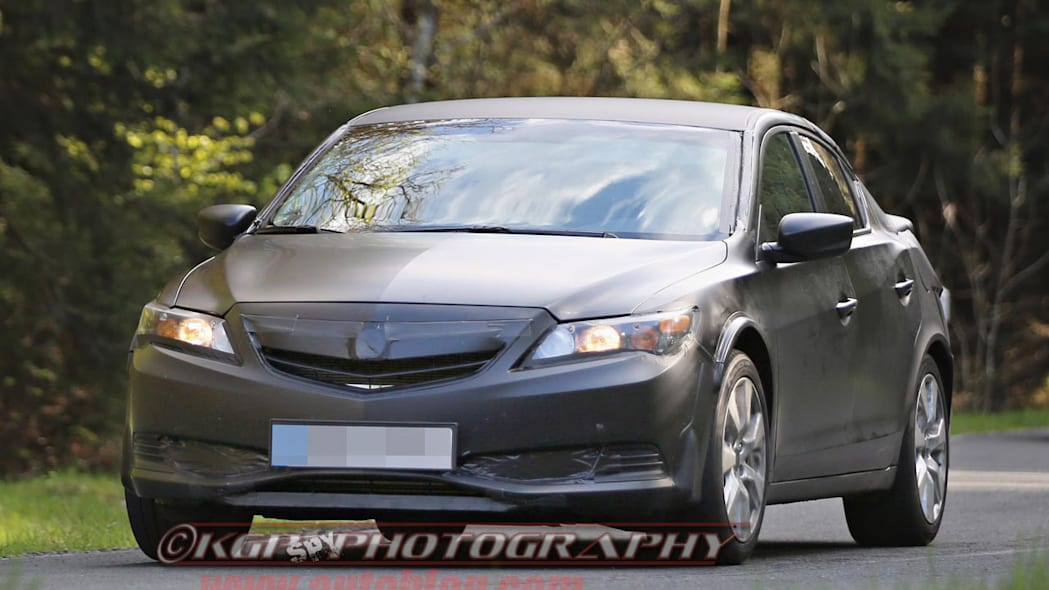 black honda civic five-door front