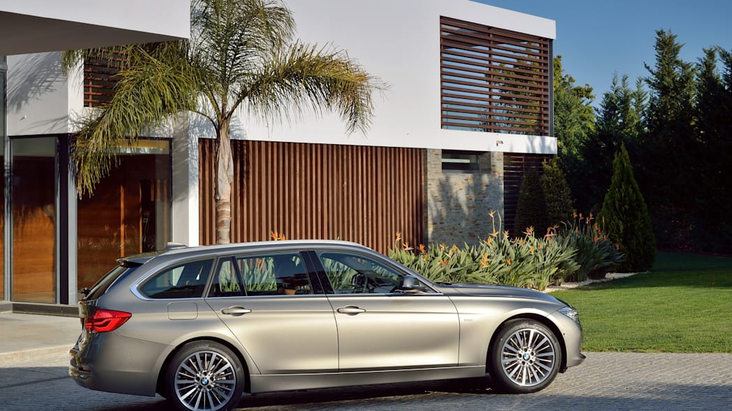 beige 2016 bmw 3 series wagon refresh palm tree