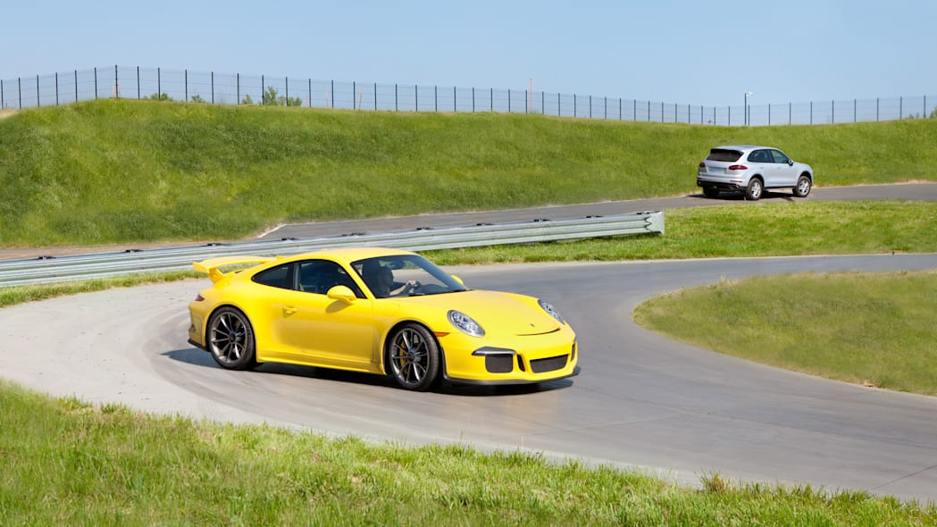 porsche experience center track with 911