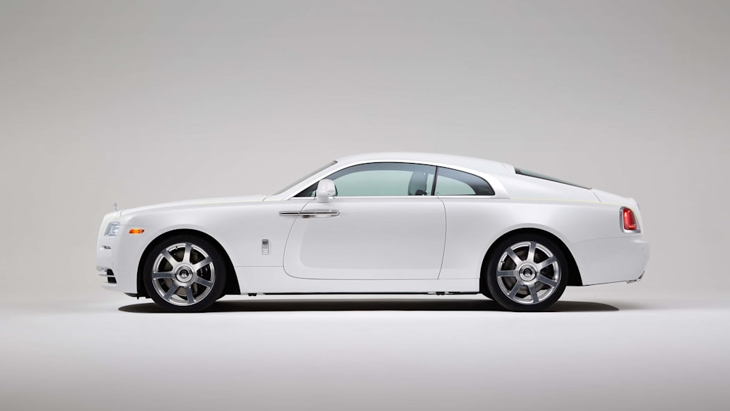 Rolls-Royce Wraith Inspired by Fashion edition side view