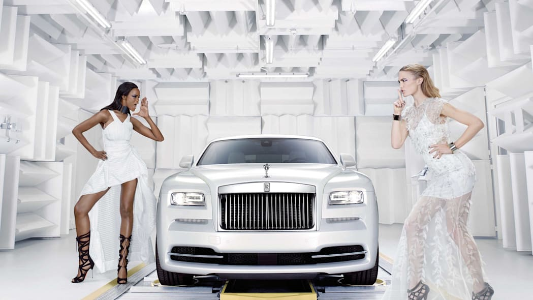Rolls-Royce Wraith Inspired by Fashion edition assembly line front view