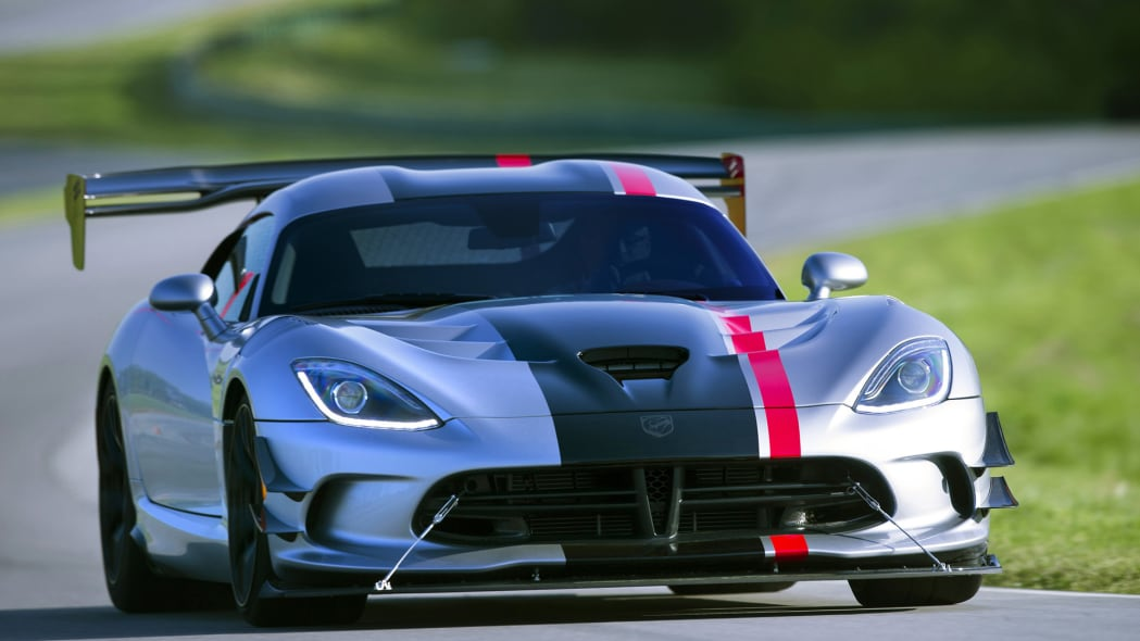 dodge acr viper 2016 track action