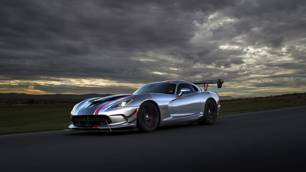 dodge viper sunset action track speed