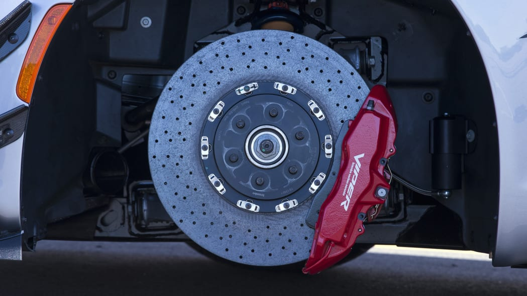 viper dodge acr brakes carbon ceramic