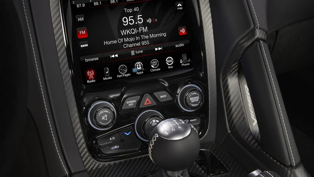 viper acr 2016 dodge display instrument