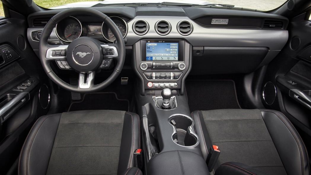 2016 Ford Mustang GT Premium California Special Package interior cabin