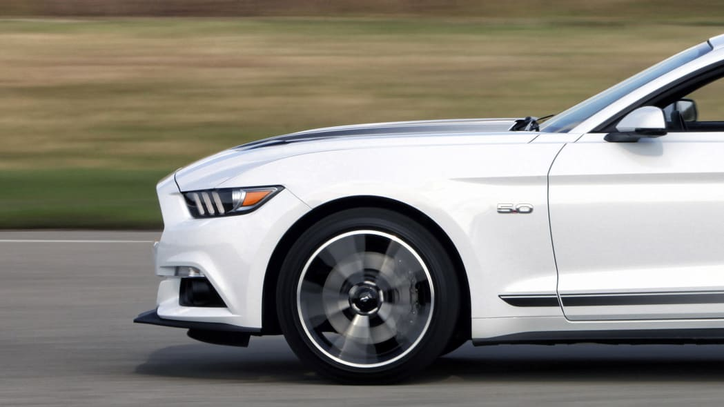 2016 Ford Mustang GT Premium California Special Package convertible front wheels