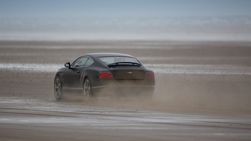 Bentley Continental GT Speed Flying Mile record