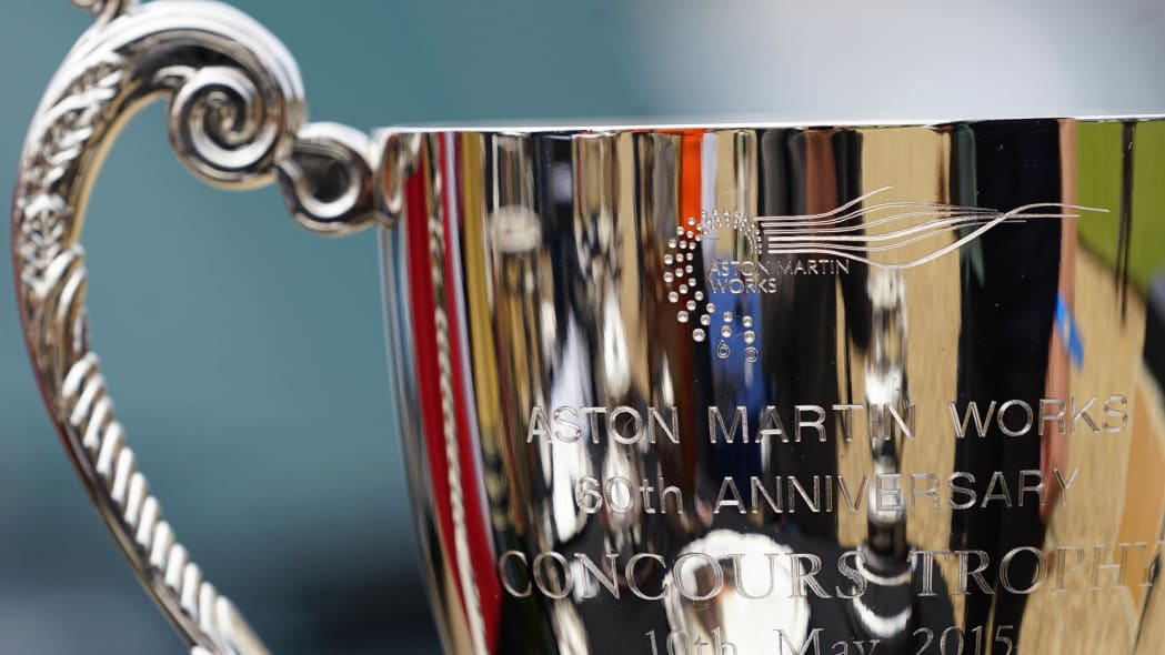 2015 Aston Martin Owners Club Spring Concours trophy