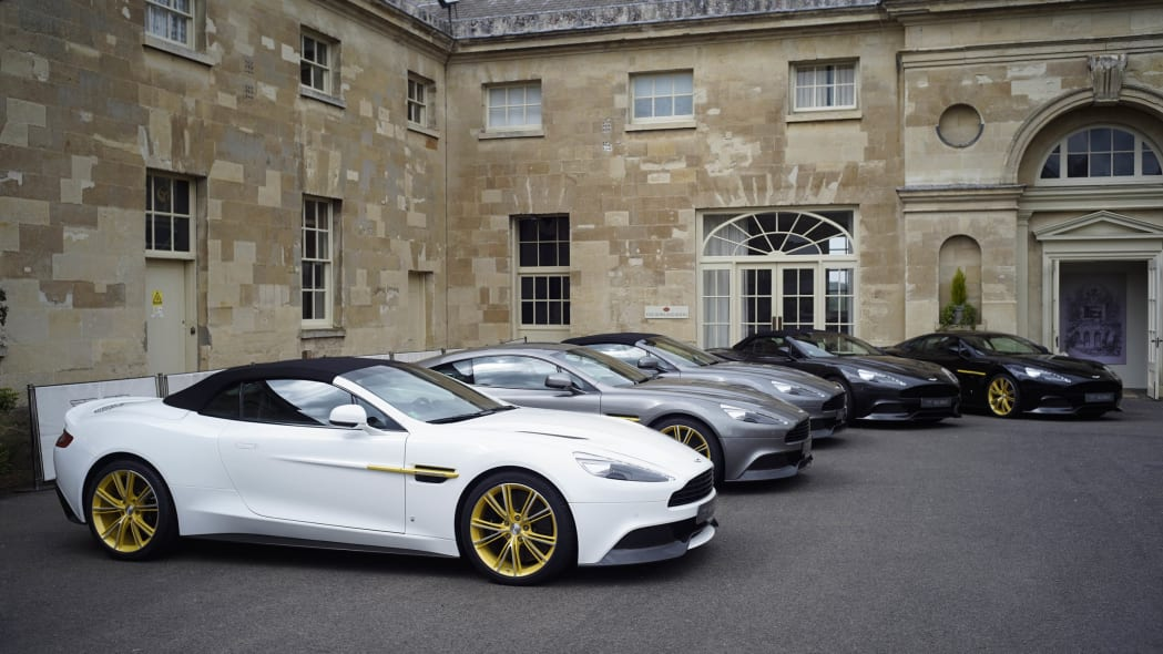 2015 Aston Martin Owners Club Spring Concours Vanquish Centenary Edition