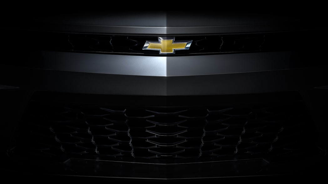 2016 chevy camaro grille and bowtie