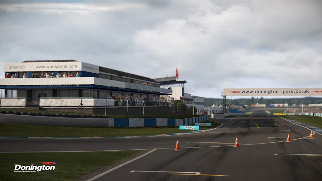 donington park track racing project cars