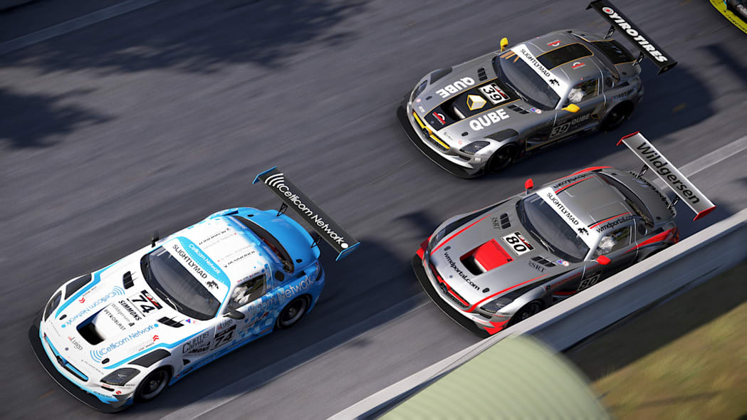mercedes sls amg project cars racing video game