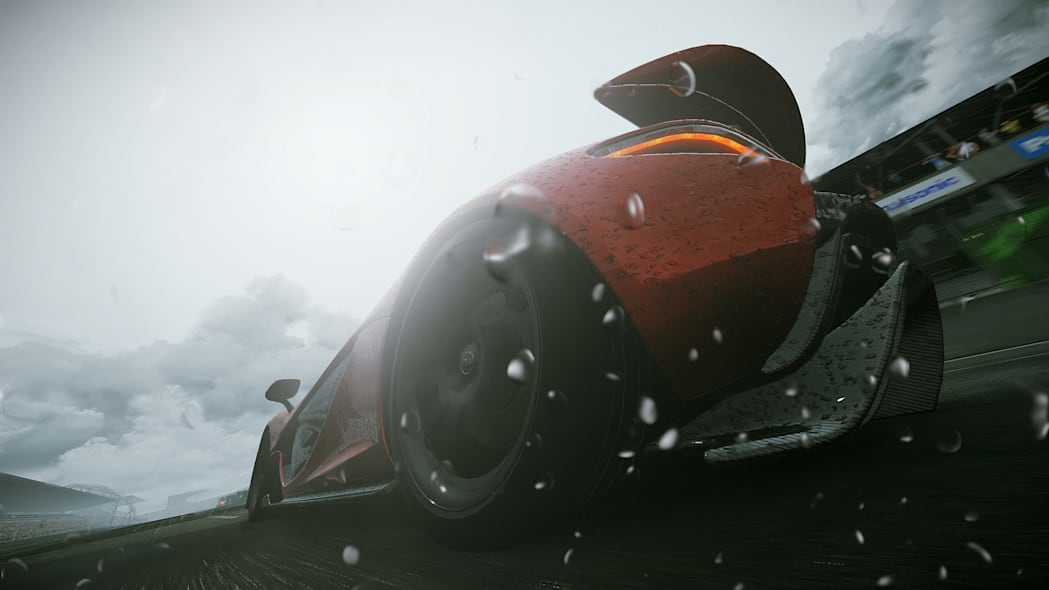 project cars racing rain motorsports video game