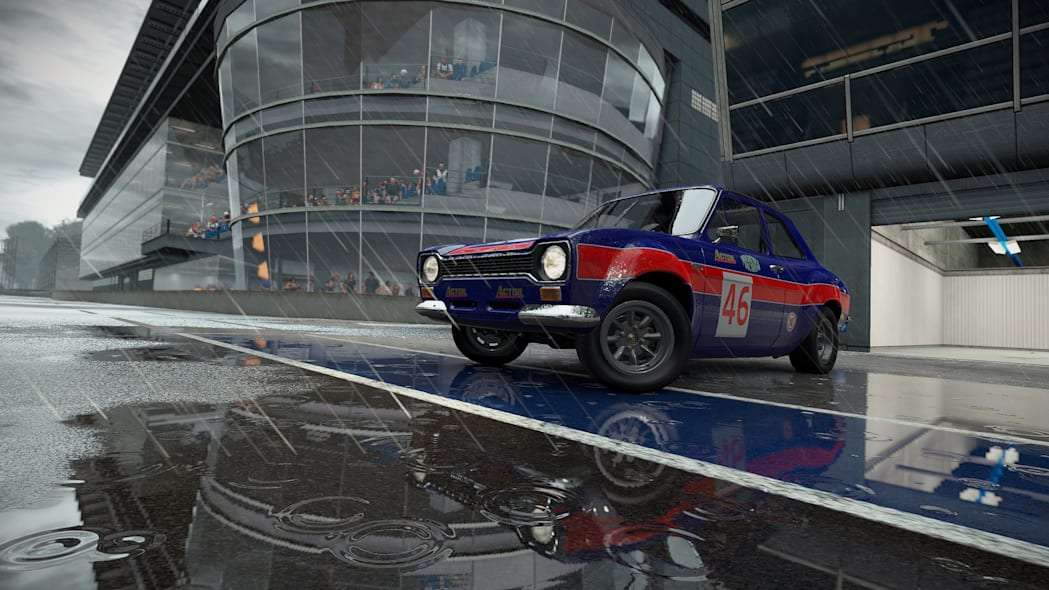 ford escort le mans rain racing project cars