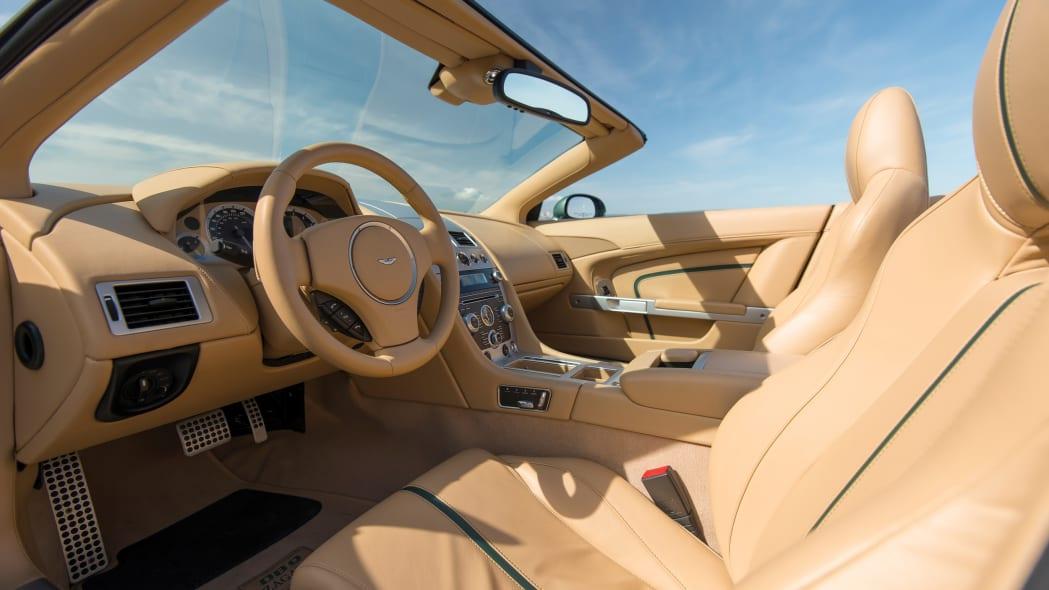 Aston Martin DB9 Spyder Zagato Centennial interior