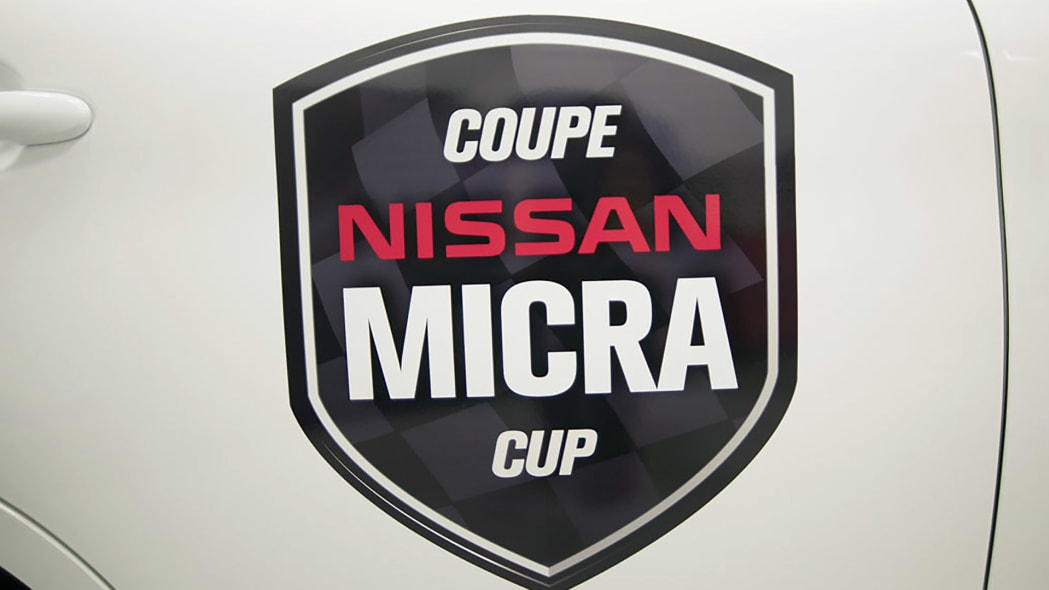 2015 Nissan Micra Cup graphics