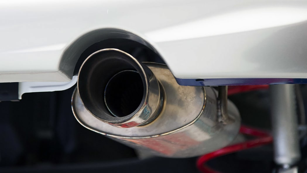 2015 Nissan Micra Cup exhaust tip