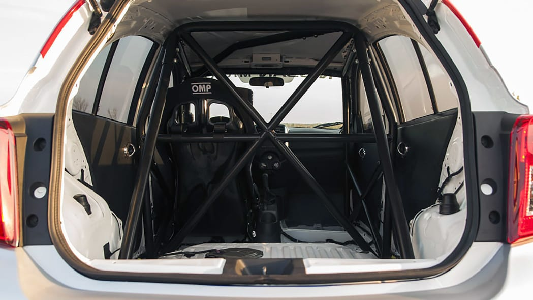 2015 Nissan Micra Cup roll cage