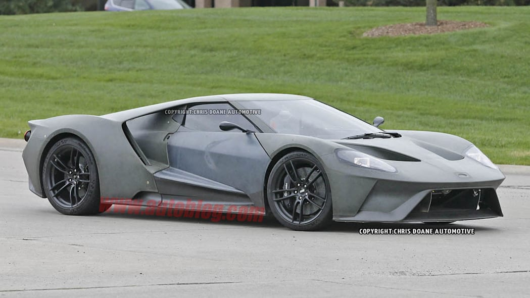 2017 Ford GT front side prototype