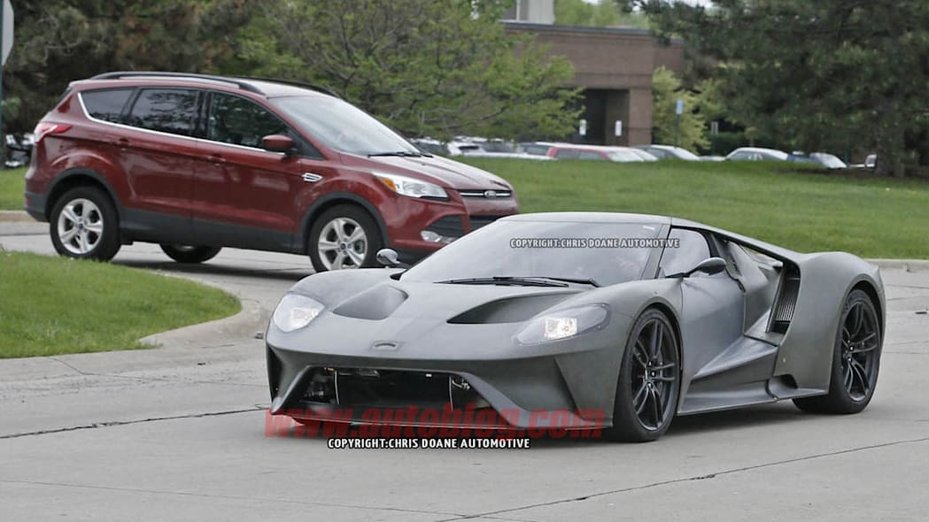 2017 Ford GT on street escape