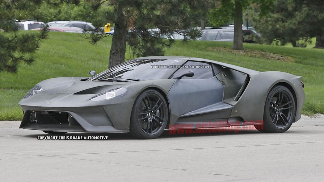 2017 Ford GT parked prototype