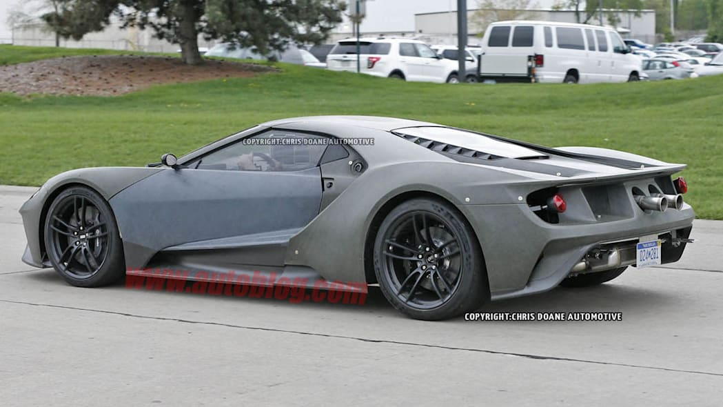 2017 Ford GT prototype awesome