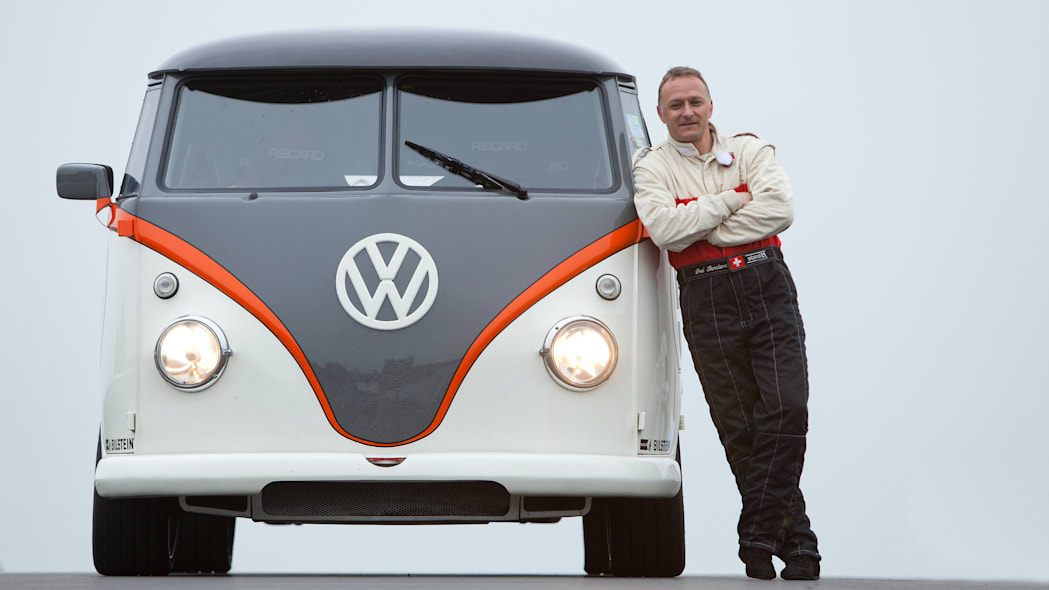 Fred Bernhard and his VW T1 Race Taxi