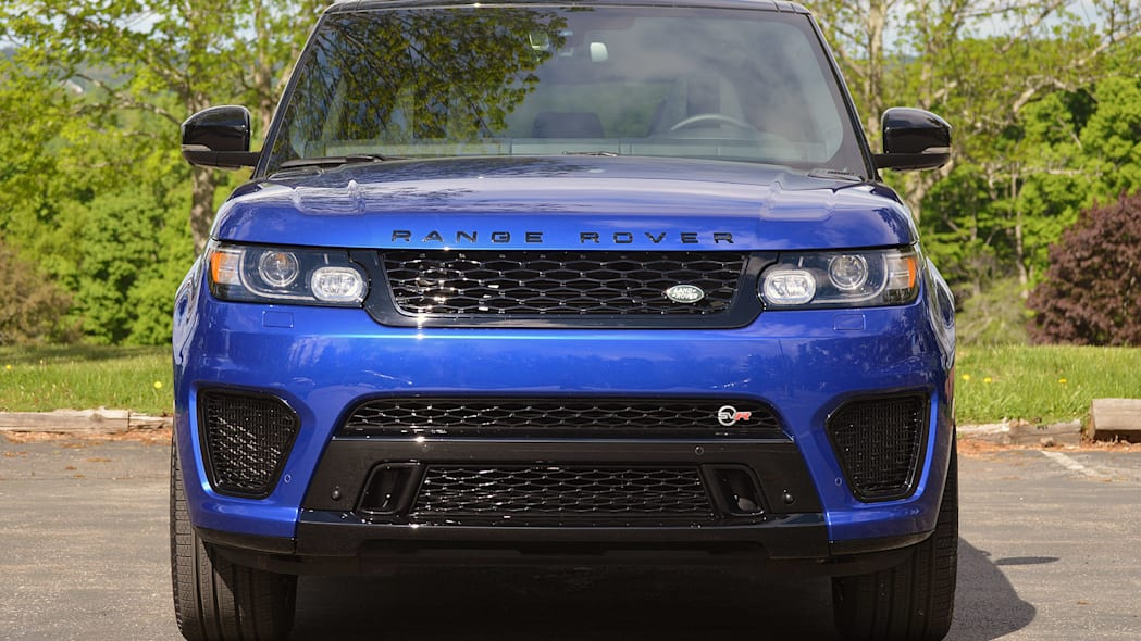 2015 Land Rover Range Rover Sport SVR front view