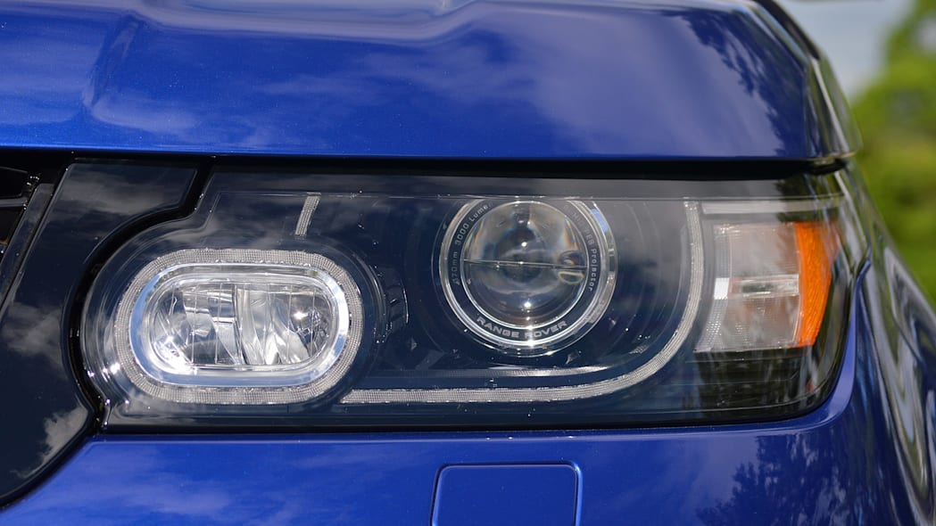 2015 Land Rover Range Rover Sport SVR headlight