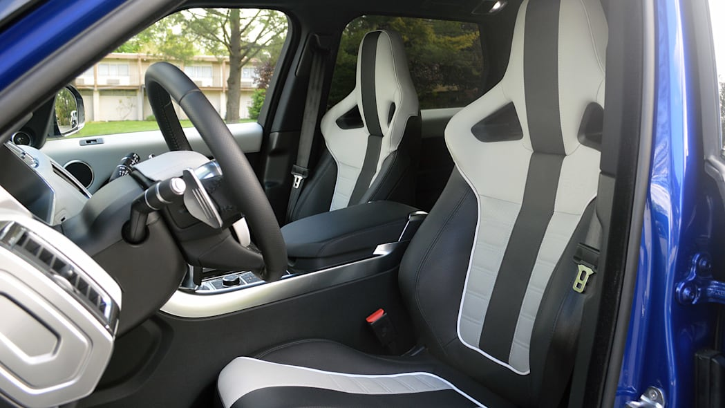 2015 Land Rover Range Rover Sport SVR front seats