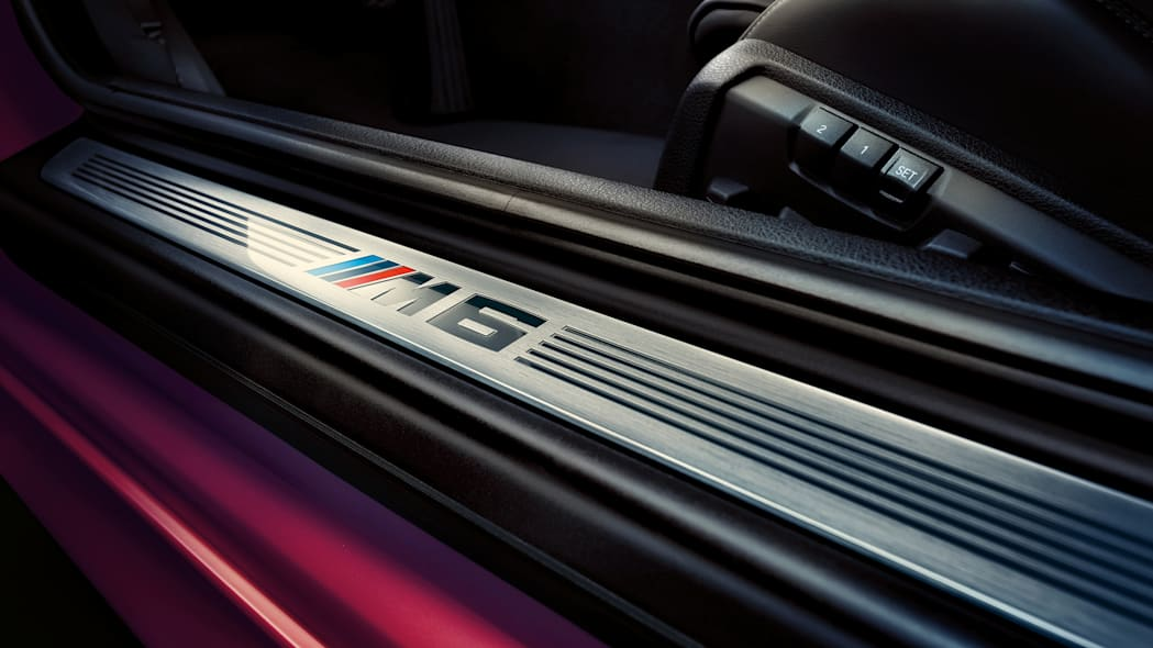 2016 BMW M6 with Competition Package tread sill plate