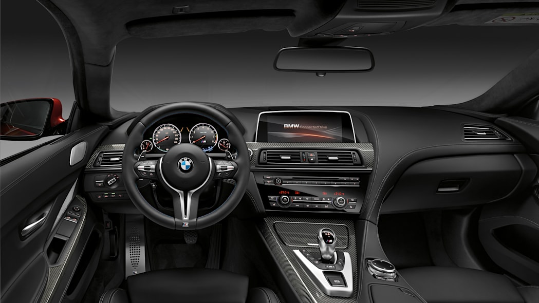 2016 BMW M6 with Competition Package interior cabin