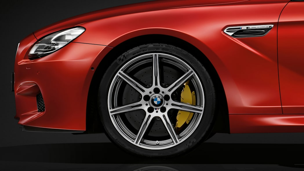 2016 BMW M6 with Competition Package red wheels