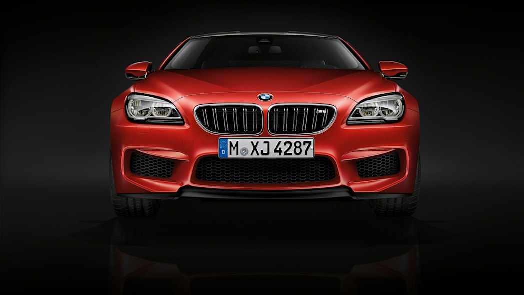 2016 BMW M6 with Competition Package red front
