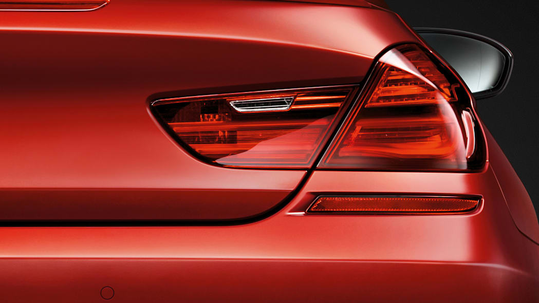 2016 BMW M6 with Competition Package rear tail light lamp