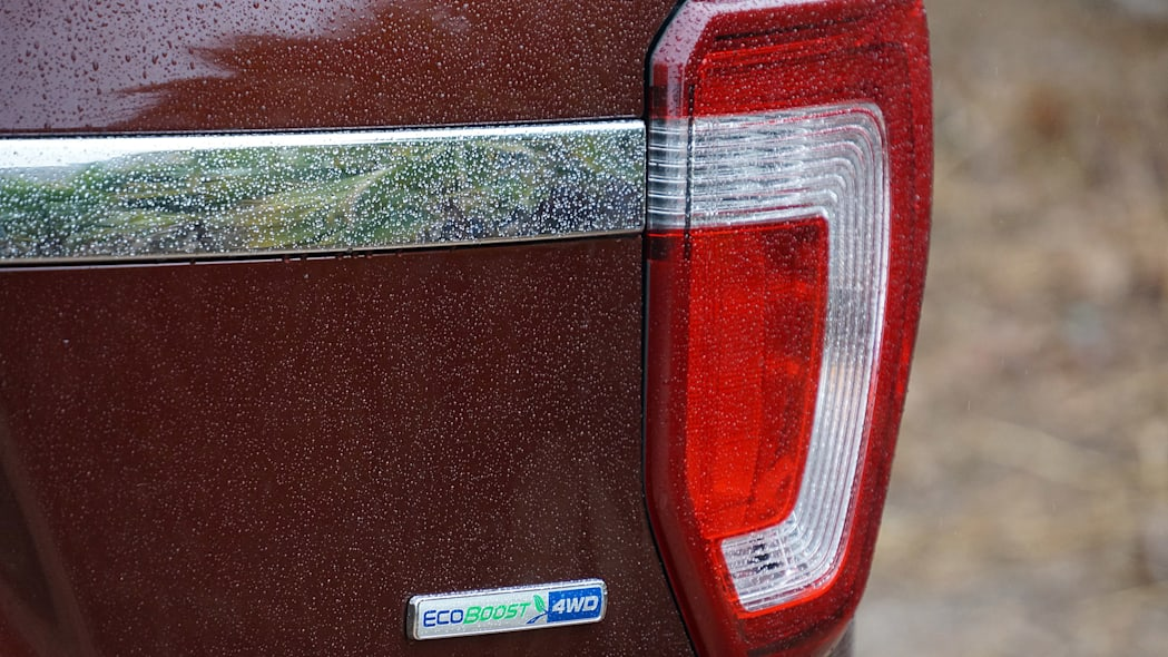 2016 Ford Explorer taillight