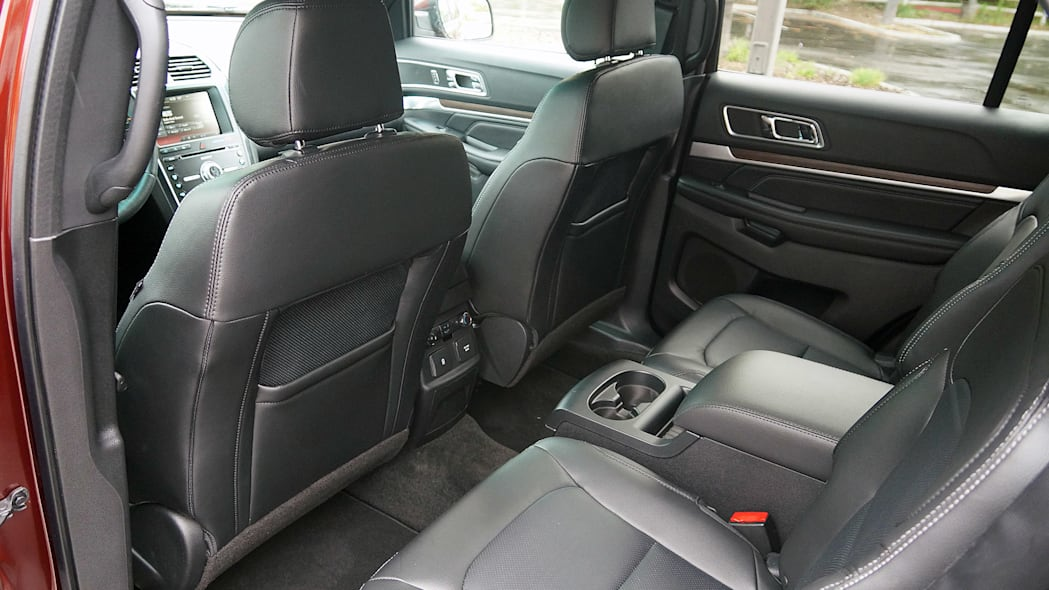 2016 Ford Explorer rear seats