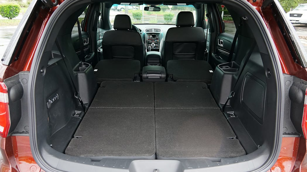 2016 Ford Explorer rear cargo area