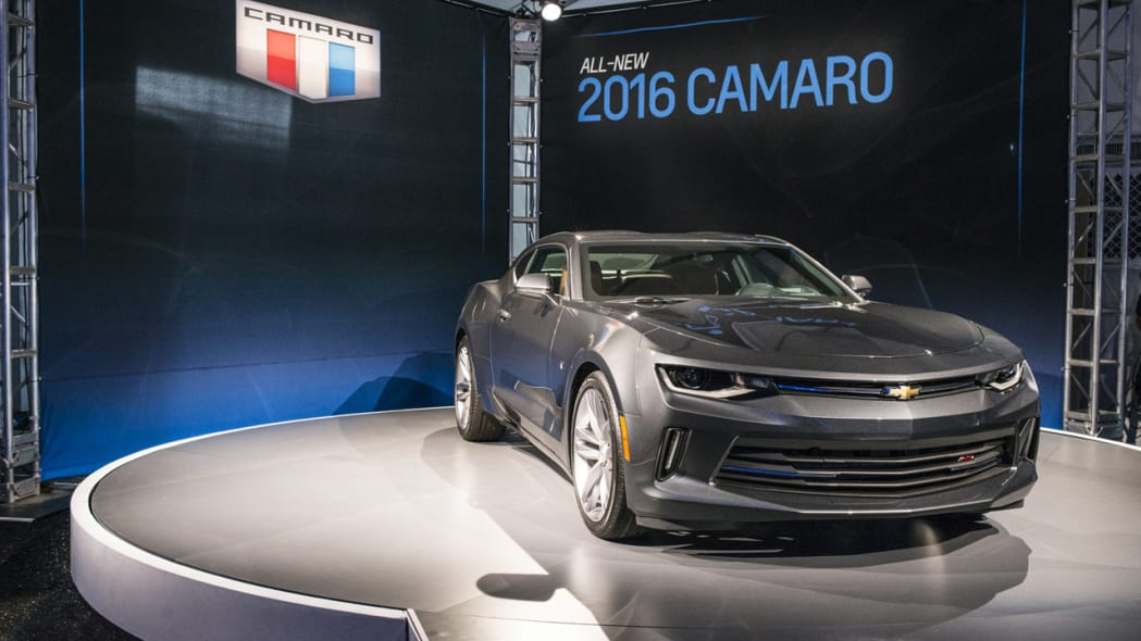 2016 chevy camaro grey