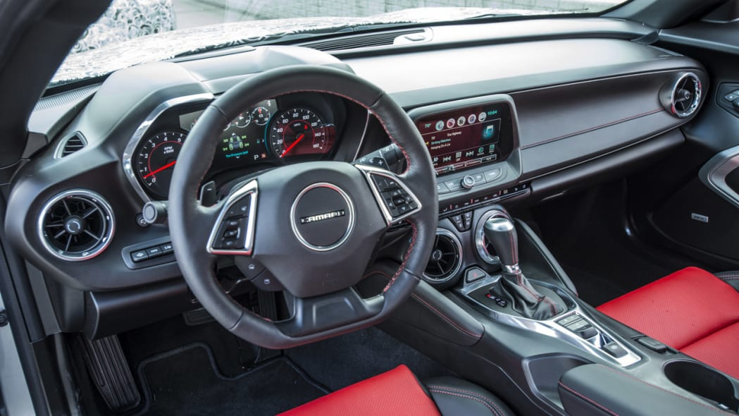 2016 chevy camaro interior