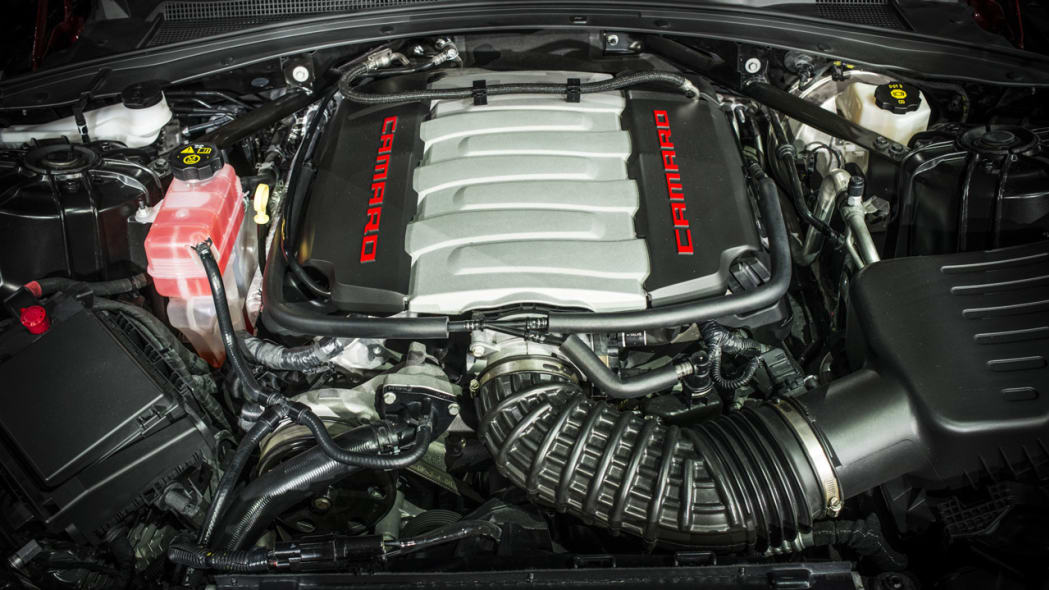 2016 chevy camaro engine