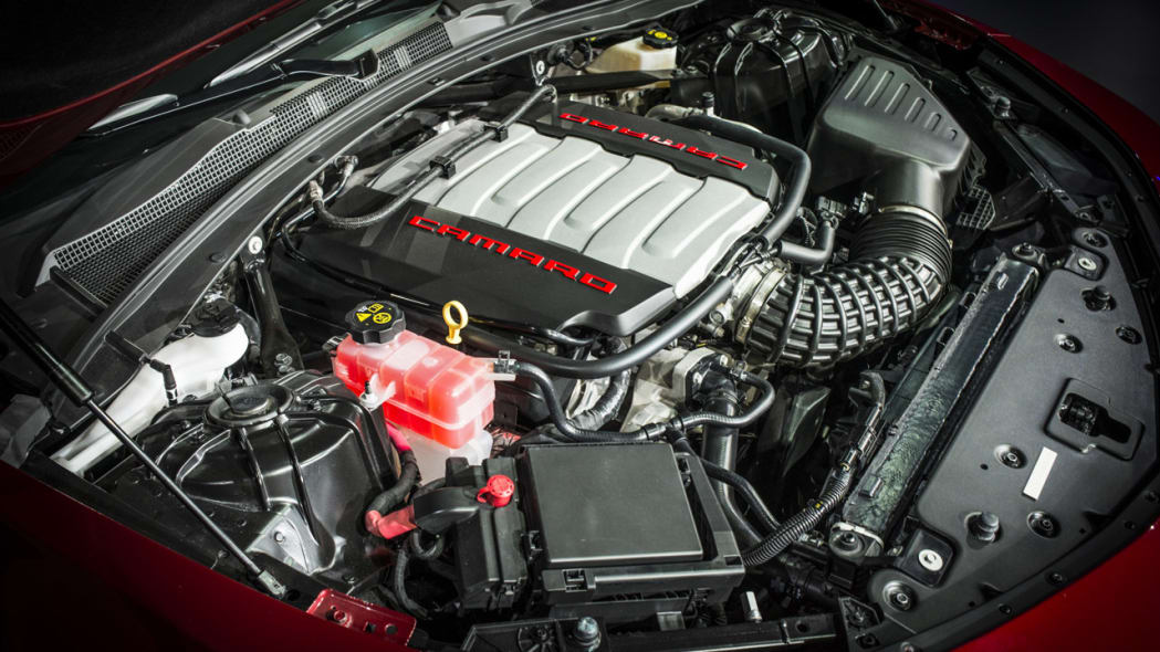 2016 chevy camaro engine cover