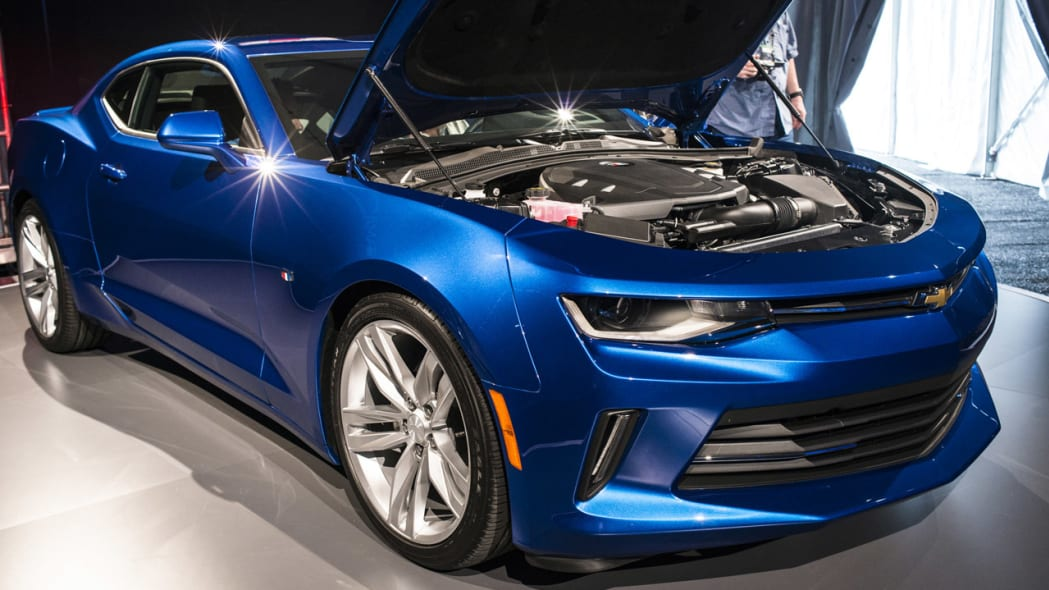 2016 chevy camaro blue shine