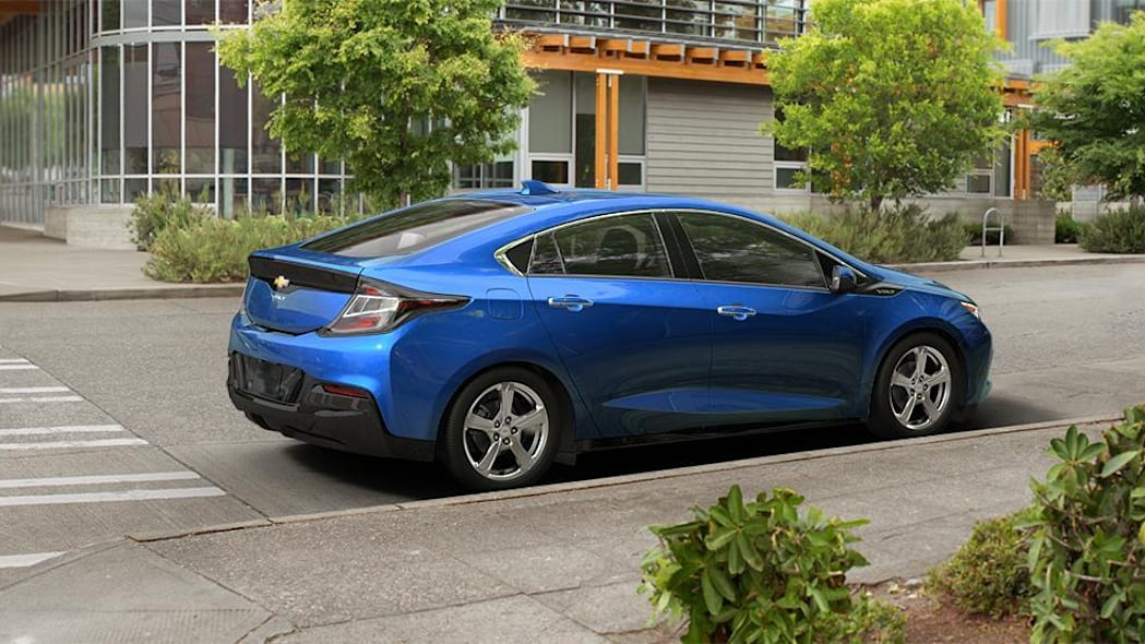 2016 Chevy Volt in Kinetic Blue Metallic
