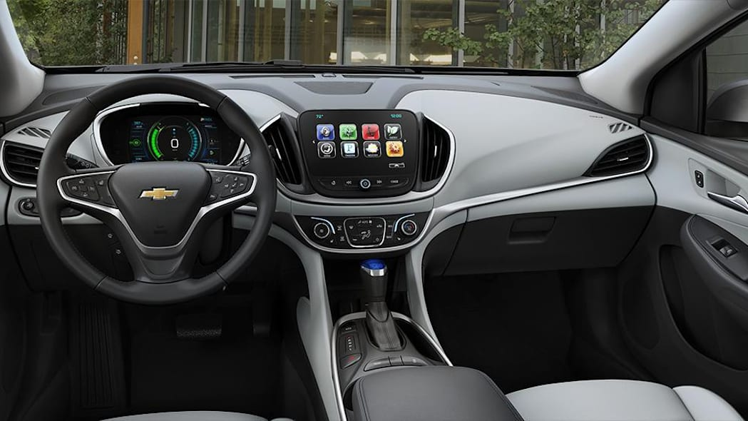2016 Chevy Volt interior with Dark Ash Leather