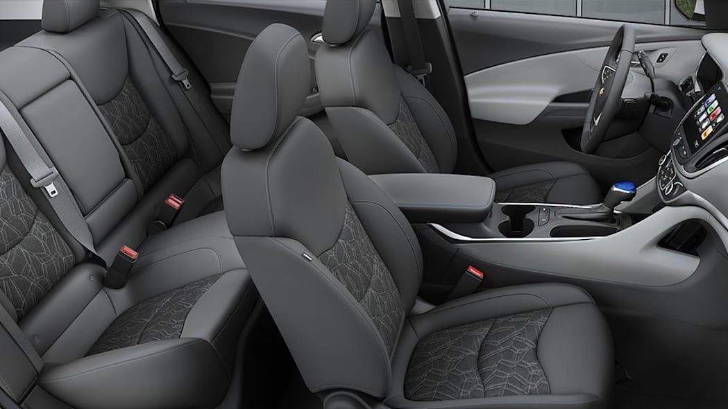2016 Chevy Volt interior with Dark Ash Cloth