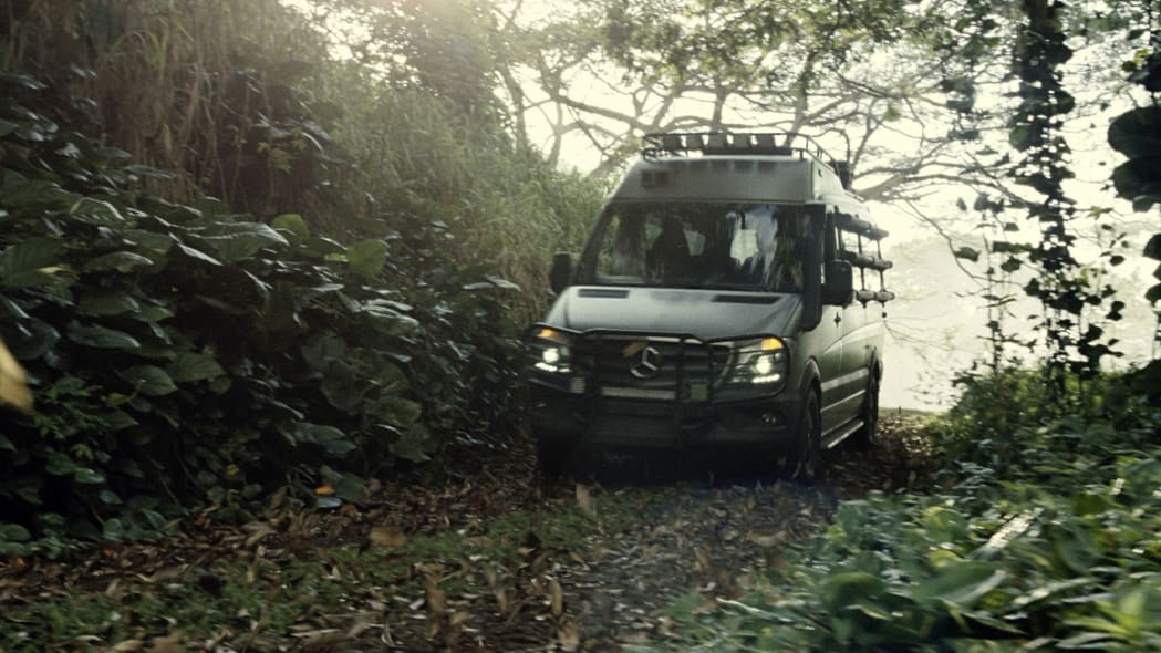 mercedes sprinter van for jurassic world